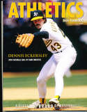 2004 Oakland Athletics Baseball Yearbook nm bxb1