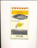 1958 San Francisco Giants press guide em