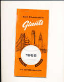 1966 San Francisco Giants press guide em
