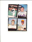 1973 topps candy lid uncut proof sheet Bobby bonds, May, Kirby, Harrelson