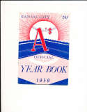 1959 Kansas City  Athletics Baseball Yearbook em bxb1