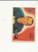 1955 bowman card vintage signed 154 Zeke Bratkowski Bears