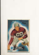 1955 bowman card vintage signed 143 Bob Toneoff 49ers