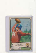 1954 bowman card vintage signed 7 Kyle rote Giants