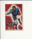 1955 bowman card vintage signed 15 Earl Jug Girard Lions