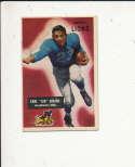 1955 bowman card vintage signed 15 Earl Jug Girard Lions