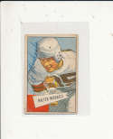 1952 bowman card vintage signed 62 Walter Michaels Browns