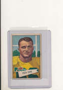 1952 bowman card vintage signed 33 Fred Cone Packers