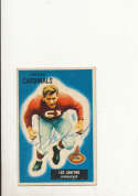 1955 bowman card vintage signed 123 Leo Sanford Cardinals