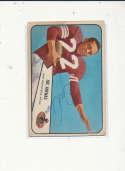 1954 bowman vintage signed 30 Joe Arenas 49ers vg