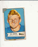 1954 bowman vintage signed 34 Bill Howton Packers tape