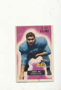 1955 bowman vintage signed 59 Charlie Ane Lions