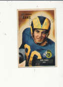 1955 bowman vintage signed 43 Tom Fears Rams