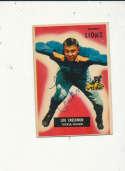 1955 bowman vintage signed 112 Lou Creekmur Lions hof d09