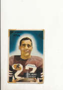 1955 bowman vintage signed 85 Joe Arenas 49ers tape