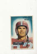 1955 bowman vintage signed 66 Gordy Soltau 49ers