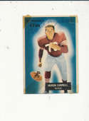 1955 bowman vintage signed 94 Marion Campbell 49ers tape