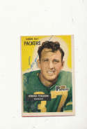 1955 bowman vintage signed 57 Howard Ferguson Packers vg