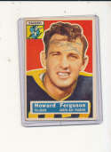 1956 Topps card vintage signed 31 Howard Ferguson Packers