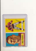 1957 Topps card vintage signed 148 Bob Toneff 49ers