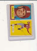 1957 Topps card vintage signed  54 Gordy Soltau 49ers em