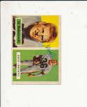 1957 Topps card vintage signed  127 Ed Modzelewski Browns
