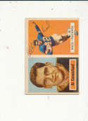 1957 Topps card vintage signed  57 Al Carmichael Packers