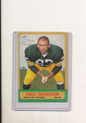 1963 Topps vintage signed 90 Fred Thurston Packers em