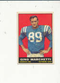 1961 Topps card vintage signed 7 Gino Marchetti Colts
