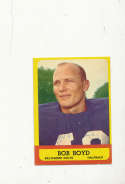 1963 Topps card vintage signed 11 Bob Boyd Colts