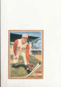 1962 Topps card vintage signed 508 Gordy Coleman reds