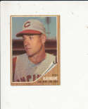 1962 Topps card vintage signed 103 Don Blasingame reds