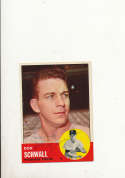 1963 Topps card vintage signed 55 Bill Virdon Pirates