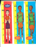 1969 Topps Ruler set basketball card rare nm 23 cards ex-em