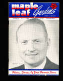3rd NHL All star game program  Toronto  vs nhl 1949 all stars unscored