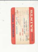 1961 San Francisco Saints Basketball ABL Press Pass em