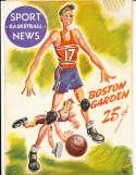 11/19 1948 Boston Celtics vs Indian. Jets basketball program