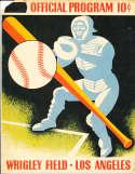 3/17 1951 Mickey Mantle Yankees vs Angels Spring training program