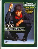 1997 Sports Illustrated Presents tiger woods no label golf plus