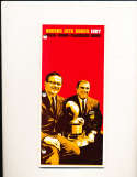 1967 Kansas City Chiefs AFL Press media guide hole binder (em)