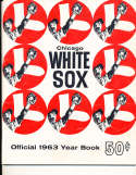 1963 Chicago White Sox Baseball Yearbook ex