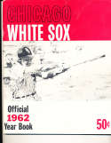 1962 Chicago White Sox Baseball Yearbook em