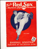 1946 Boston Red Sox Baseball Yearbook em