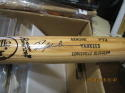 Rickey henderson Yankees Signed baseball game used bat p72 jsa