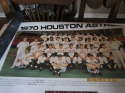 1970 Houston Astros Team Poster in nrmt 24x30