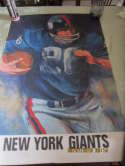 1967 New York Giants sports Poster nm