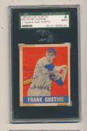 1948 Leaf card #88 Frank Gustine Cubs short print signed jsa