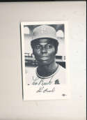 1960's Lou Brock st. Louis Cardinals Signed team issued card #4