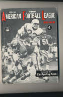 1966 AFL Football Guide The Sporting News em complete