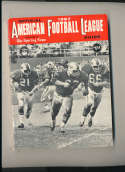 1967 AFL Football Guide The Sporting News em complete